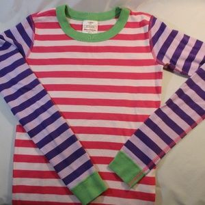 Hanna Andersson Striped Cotton Pajama Top 160/14